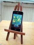David Hockney's iPhone art