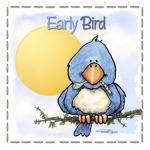 Adorable early bird image