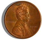 US Penny image
