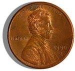 US Penny image