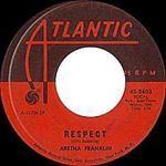 Aretha Franklin Respect 45 Record Image
