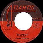 Aretha Franklin Respect 45 Record Image