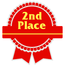 Second Place Ribbon clipart image